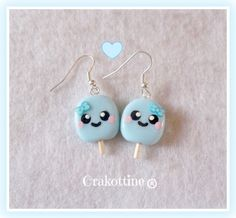 Bo glace kawaii blue ★