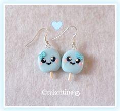 Bo glace kawaii blue ★