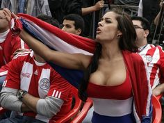 World cup boobs paraguay gif