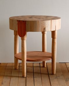 Lostine - butcher block tables