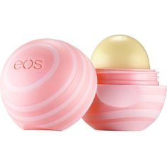 EOS Coconut milk lip balm ($10) ❤ liked on Polyvore featuring beauty products, skincare, lip care, lip treatments, makeup, beauty, eos, lips, lip balm and fillers