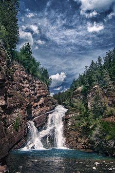 Waterton Lakes National Park, Canada - Cameron Falls