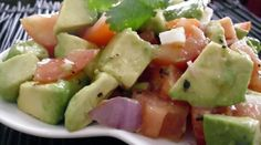 Avocado Salad (makes 3-4 side servings; total cost per serving: ~ $1.25)