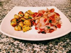 Sicilian Style Swordfish with Parsley Garlic Potatoes from Plated