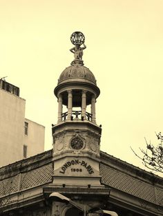 """Dome of the old shop """"London-Paris"""" - Montevideo, Uruguay"""
