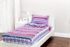 Mix 'N Match with Zipit Bedding with Fantasy Forest and Sweet Stuff. Zipit Bedding is America's FIRST all-in-one zippered bedding that will forever change the way people, of ALL ages, make their beds! Simply put, it works like a Sleeping Bag… you just Zipit!