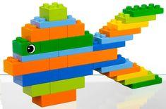 Lego Design, Lego Fish, Lego Studios, Lego Therapy, Modele Lego, Mega Blocks, Lego Activities, Preschool Activities, Pranks