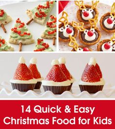 16 Cute Christmas Party Food Ideas Kids Will Love | Party ...
