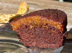 pumpkin chocolate mini-cakes