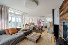 creative and rustic Decor: Nussberg Penthouse, Vienna