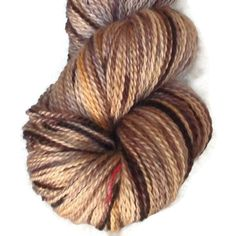 Hand Dyed Bluefaced Leicester Wool Sock Yarn by SussesSpindehjrne