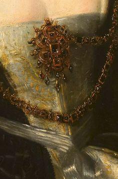Peter Paul Rubens - Helena Fourment, detail