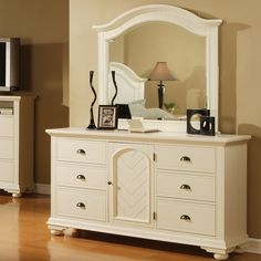 Picket House Napa Dresser and Mirror