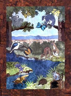 Image result for australian animal quilts