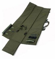 """BLACKHAWK! Stalker Drag Mat - Olive Drab by BlackHawk. $99.99. Perfect for use as a shooting mat, rifle carry case, or drag bag, the BLACKHAWK! Stalker Drag Mat is meant for the true operator.  The mat is constructed of 1000 denier nylon and .5"""" closed-cell foam and offers a detachable shoulder strap with HawkTex pad.    Features:  Interior weapon-securing straps; elastic loops to hold 10 rounds of .308 ammo with protective flap; full wraparound carry handles m..."""