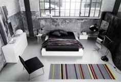 Modern bedroom furniture - Quality from BoConcept - 2012 Boconcept, Style At Home, White Lacquer Bedroom Furniture, Grey Bedroom Set, Modern Bedroom, Loft Stil, Style Loft, Shop Interiors, Furniture Inspiration