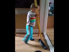 Dean one year old - Helping in household