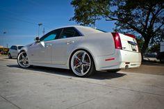 "2009 Cadilac CTS-V Asanti AF157 Lowered 22"" 5 star Custom Bmw, Cadillac Cts V, First Drive, Wow Products, Mindset, Transportation, Miami, Automobile, Wheels"