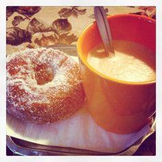 World's bestest Pyynikki doughnut. #tampereblog #tampereallbright