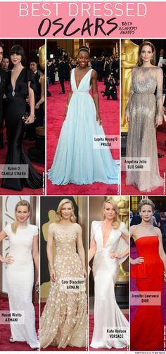 Who was your Oscar's favorite? #AcademyAwards #BestDress #F21Blog
