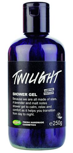 Twilight - Wenn du mal wieder Schäfchen bis zum Abwinken zählst und sich süßer Schlaf trotzdem nicht einstellen will, dann genehmige dir eine Dusche mit Twilight.