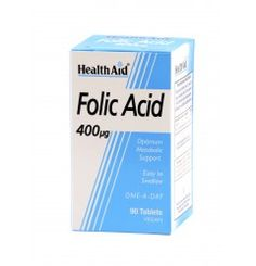 Folic Acid 400 is a member of the B group of vitamins and is used in the body for the production of nucleic acids and DNA.  It helps in the utilisation of sugar, amino acids and the division of body cells.