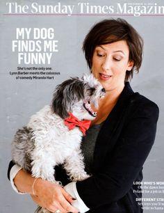 Miranda hart& her lovely dog!!