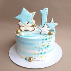 Something I have all the anniversary cakes - for kids- Что-то у меня . Something I have all the anniversary cakes – for kids- Что-то у меня все торты Toddler Birthday Cakes, Baby First Birthday Cake, Boys 1st Birthday Cake, Birthday Cake For Husband, 17th Birthday, Baby Boy Cakes, Cakes For Boys, Cupcake Cakes, Cake Decorating Tips