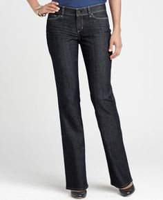 The perfect jeans... AT Modern Boot Leg Jeans... If only they had these in tall sizes...