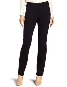 Not Your Daughter's Jeans Women's Cindy Ponte Slim Leg Jean, Black, 6 buy at http://www.amazon.com/dp/B00593BXUY/?tag=bh67-20