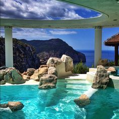 WOW...Hotel & Spa Hacienda Na Xamena in Ibiza. I mean mean, COME ON!
