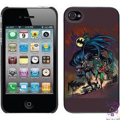 $14.50: Batman & Robin iPhone 4-4S Thinshield Snap-On Case (Running Design)
