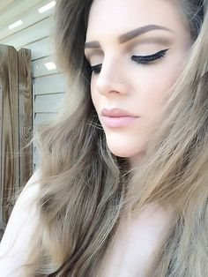 Makeup of the Day: Lana Del Rey inspired by kelseyleah. Browse our real-girl gallery #TheBeautyBoard on Sephora.com & upload your own look for the chance to be featured here! #Sephora #MOTD