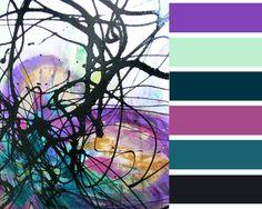 Kleurenkaart abstract  Made by APwonen