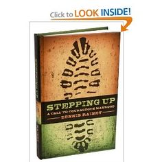 "Stepping Up: A Call to Courageous Manhood // A great book for guys. Only $12.23. I would recommend getting the hardback instead of the Kindle version, because you will want to ""mark up"" this book!"