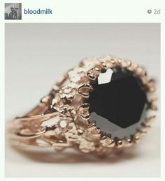 Can't wait for this ring from bloodmilk! Would have made an amazing engagement ring. Now its a freedom ring ;)
