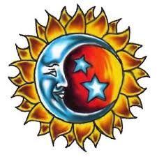 tatuajes sol y luna