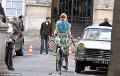 Taylor and a Peugeot 404 - nice.