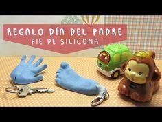 Regalo DIA DEL PADRE – Pie y Mano de Silicona – Manualidades aPasos