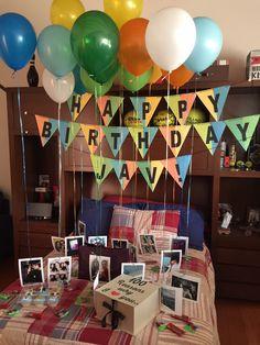 Balloons Photographs Fun Party Decor