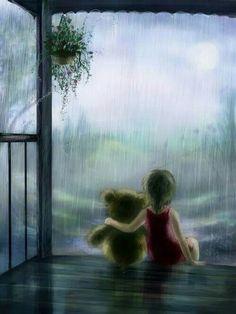 Maria Hobbit 'Rain' http://mariahobbit.deviantart.com/art/Rain-161131102