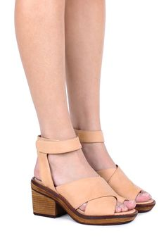 Jeffrey Campbell Shoes ELENDA Sandals in Natural