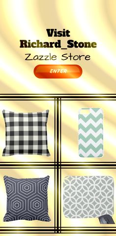 Vist Richard__Stone Zazzle for trendy Geometric pattern, abstract pattern on many different Product.