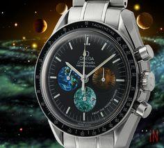 """Circling Orbits!"" #Omega 42mm Speedmaster Moon To Mars Ref#: 3577.50.00  ($4,725.00 USD) http://www.elementintime.com/Omega-Speedmaster-3577.50.00-Stainless-Steel-Sku-8991"