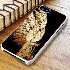 Supernatural Castiel Wings Art iPhone 6|iPhone 6S Case