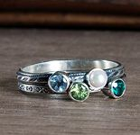 custom mini stack rings... just waiting for Micah to make his appearance before ordering mine!