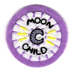 Moon Child Patch by mittenfingerz on Etsy