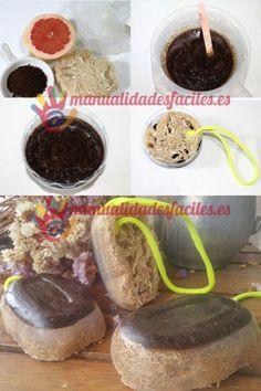 Como hacer jabón anticelulítico con café Beauty Kit, Diy Beauty, Soap Shop, Homemade Soap Recipes, Soap Packaging, Homemade Beauty Products, Home Made Soap, Handmade Soaps, Soap Making