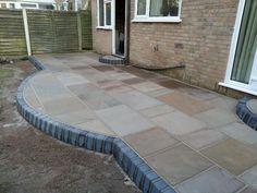 Indian stone patio. #marshalls #bestbyfar #paving #patio #indianstone