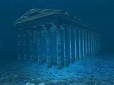 Real Underwater Lost City Of Atlantis Lost City Of Atlantis Lost City Atlantis